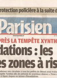 LE PARISIEN - 23.04.10