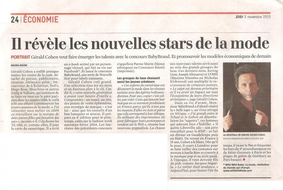 LE JOURNAL DU DIMANCHE - 03.11.13