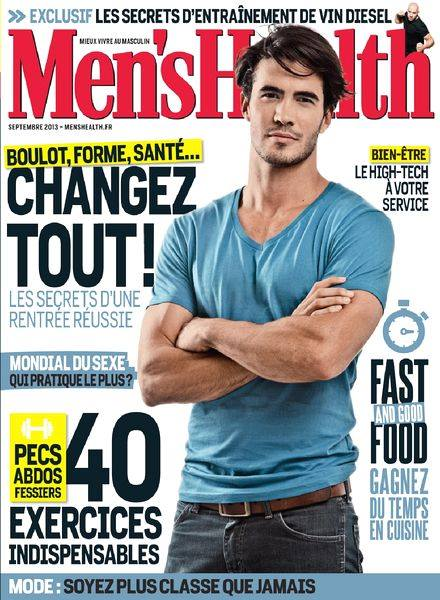 Men's Health  septembre 2013