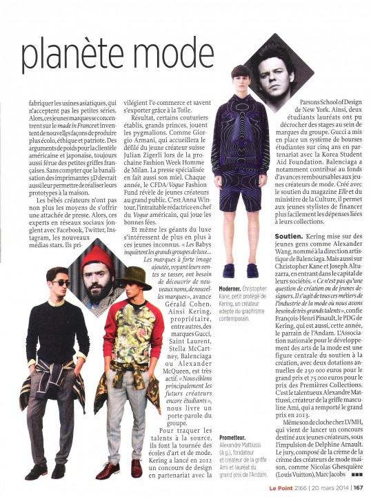 LE POINT - p. 167 - 20.03.14