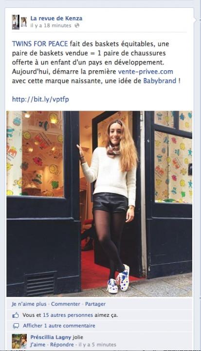 LA REVUE DE KENZA - FaceBook - 20.05.14