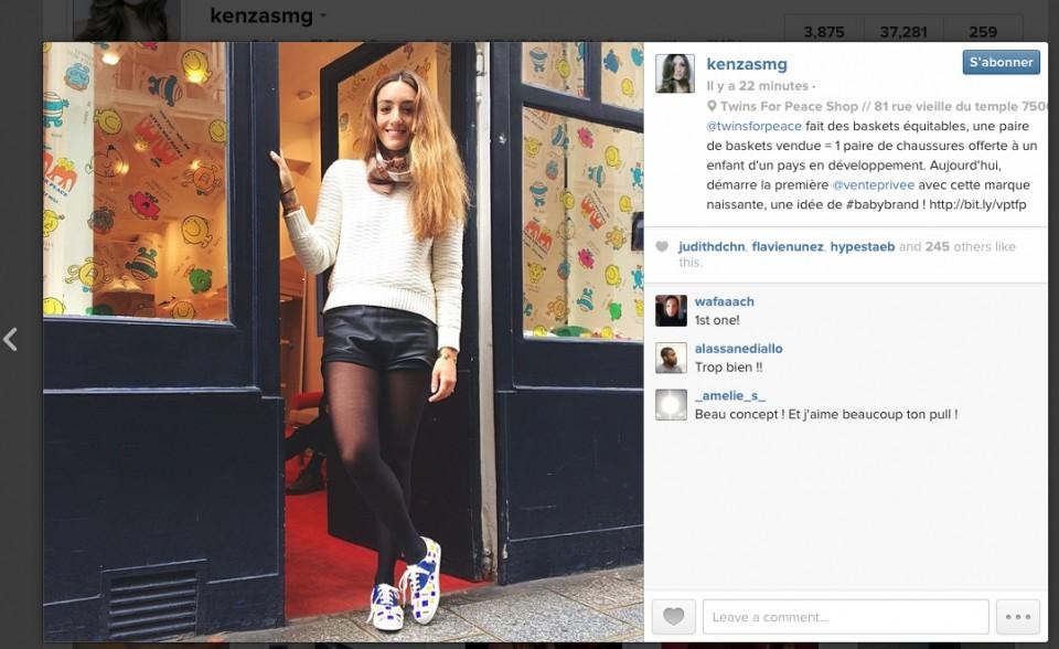 LA REVUE DE KENZA - Instagram - 20.05.14