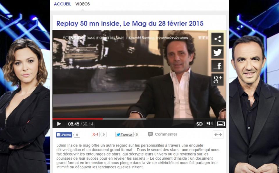 043 - 50' Inside Le Mag @ TF1 - 28.02.15
