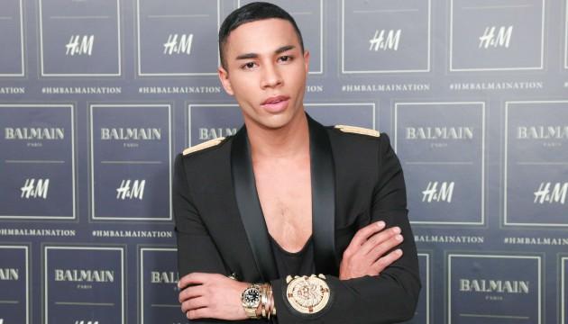 Olivier Rousteing, jeune Français à la tête de la maison Balmain (SIPANY / SIPA)