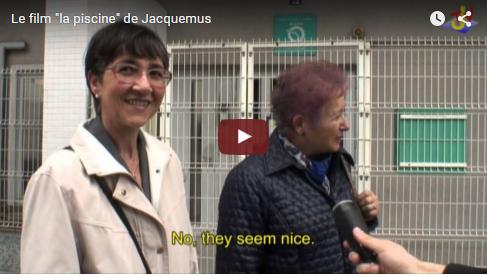 """Le film """"la piscine"""" de Jacquemus"""