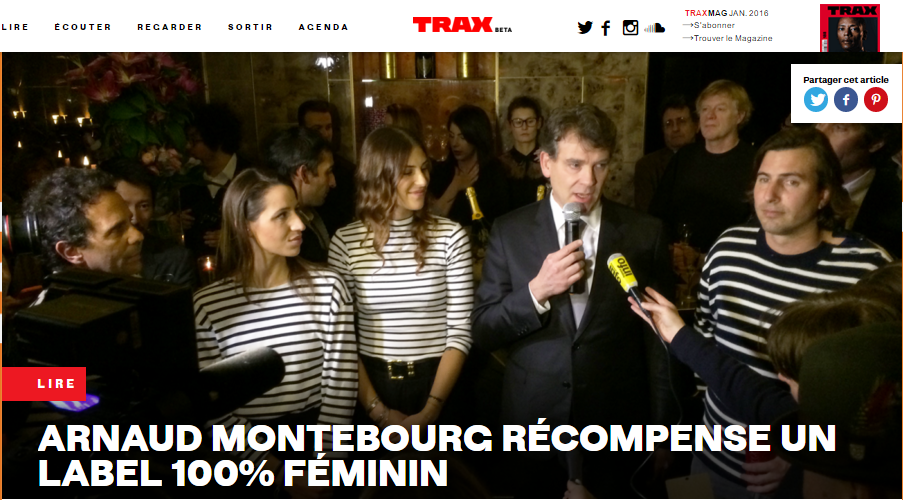 TRAX Mag.com - 25.01.16